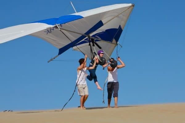 Learning To Fly: Hang Gliding Outer Banks, North Carolina
