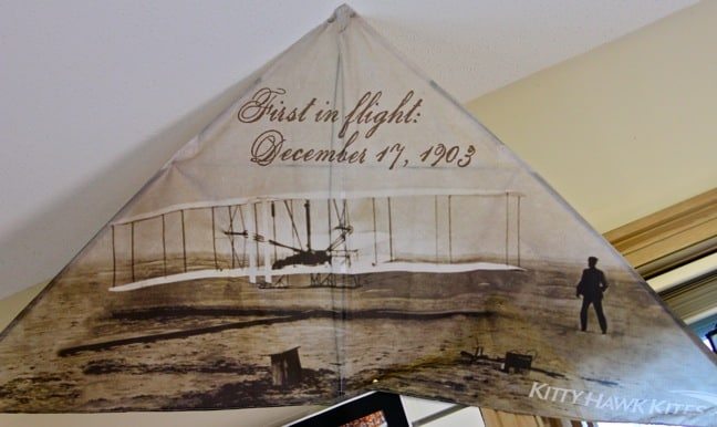 "Wright brothers ""First in Flight"" Kite, Kitty Hawk Kites"