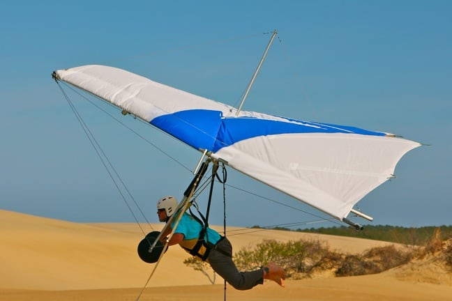 Bret Love of Green Global Travel, Hang Gliding Outer Banks, NC