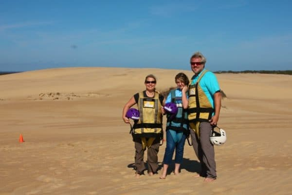 Family Hang Gliding Lessons in Outer Banks, North Carolina
