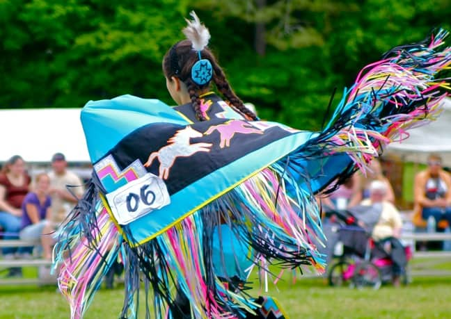 Native American Dancer, North Georgia Pow Wow