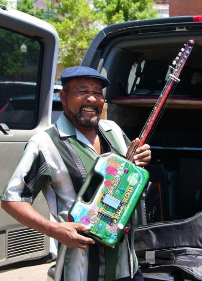 Super Chikan's Toolbox Guitar