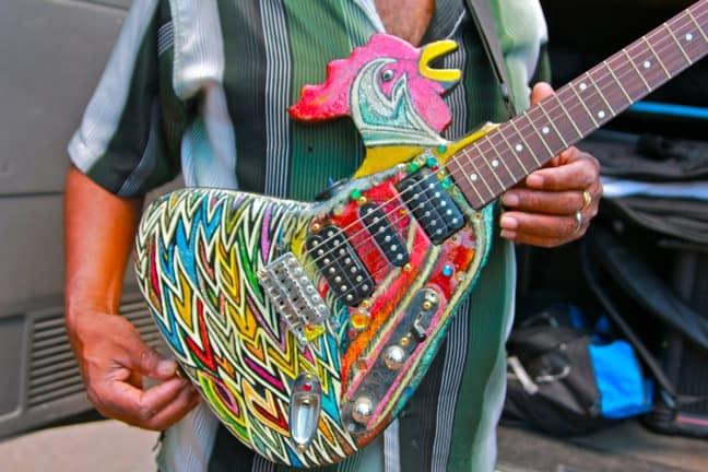 Super Chikan's Chicken Guitar