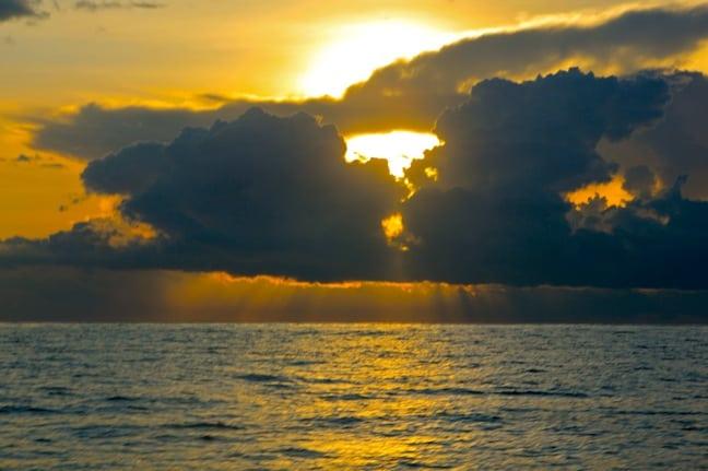 Sunset on The Hannibal Shelf, Panama