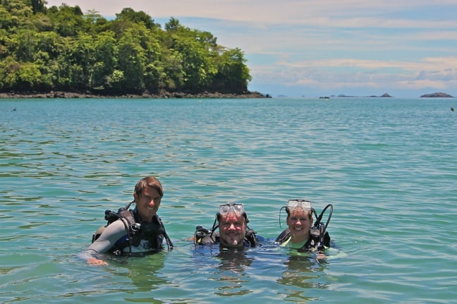 Discover Scuba Diving at Coiba National Park, Panama