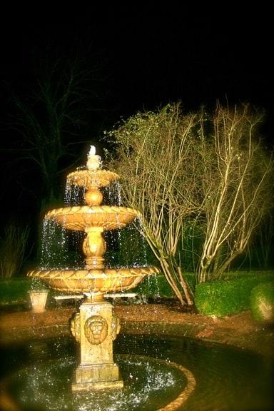 Courtyard Fountain at Barnsley Gardens Resort