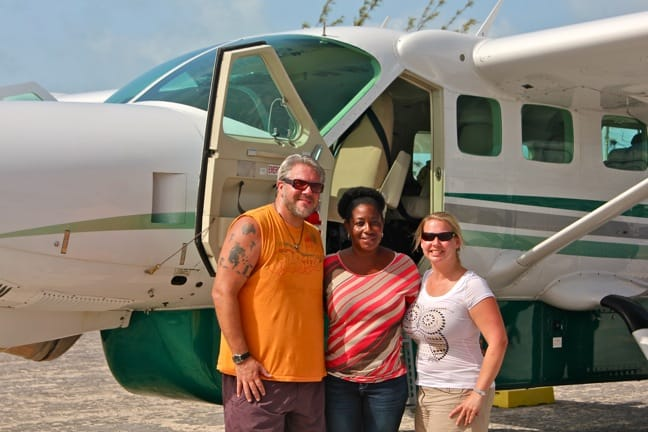 Green Global Travel With Embrace Resort Owner Nikki Ferguson in Staniel Cay