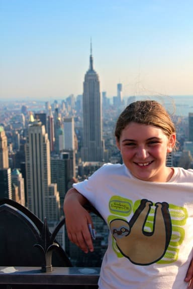 Alex in NYC @ Top of the Rock