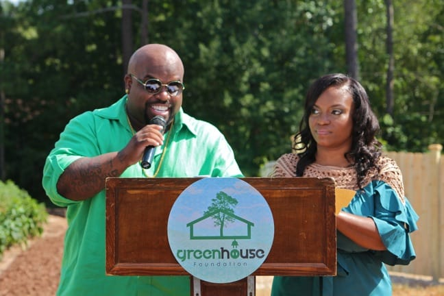 CeeLo Green & Shedonna Alexander Introduce Their GreenHouse Foundation
