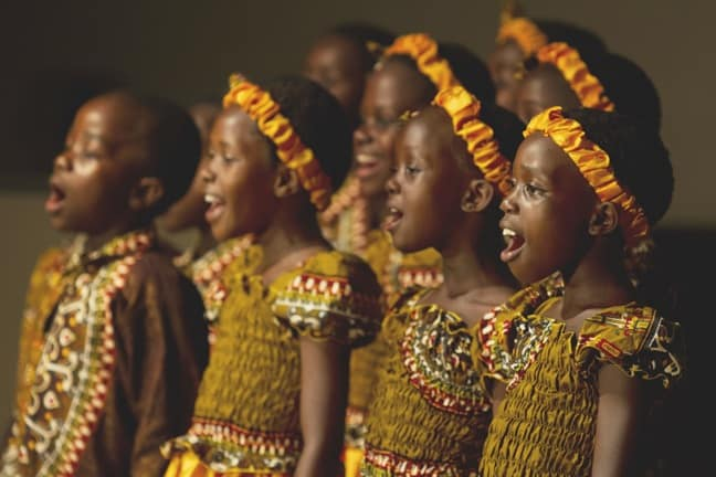 African Children's Choir Publicity SHot