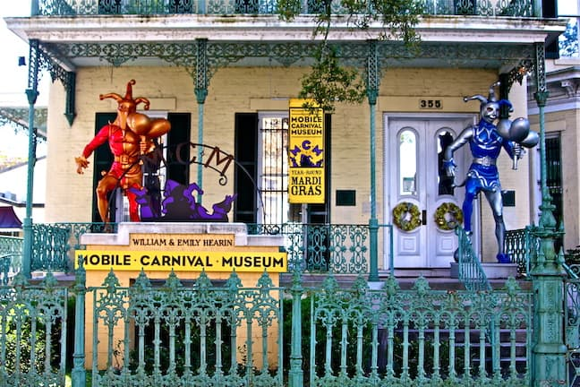 The Mobile Carnival Museum Exterior