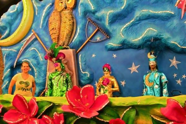 ALABAMA: Mobile Carnival Museum/The 1st US Mardi Gras