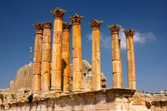 Artemis-Temple-Jerash-Jordan