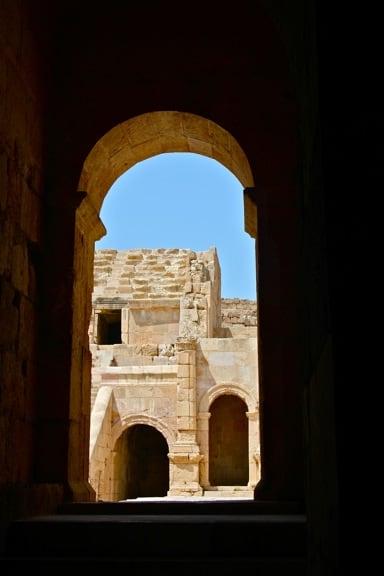 Jerash's North Theater