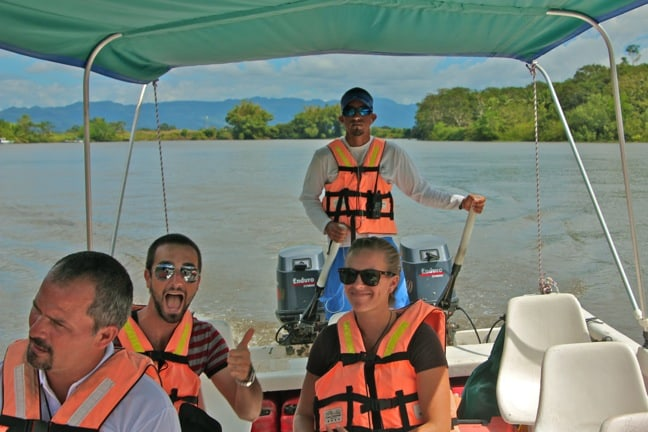 Boat transfer from Sierpe to Casa Corcovado