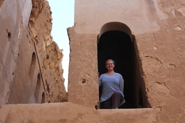 Mary Gabbett of Green Global Travel, Exploring the Desert Castles of Jordan