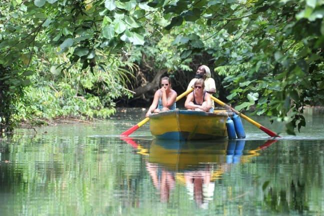 INdian_River_Dominica_tour Natures Own Hot Tub