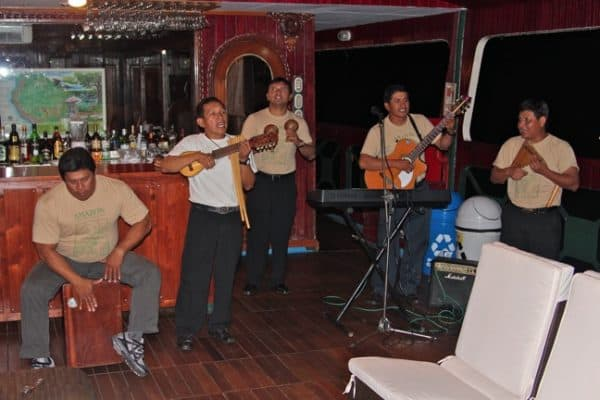 VIDEO: Amazon River Boat Party With Peruvian Music