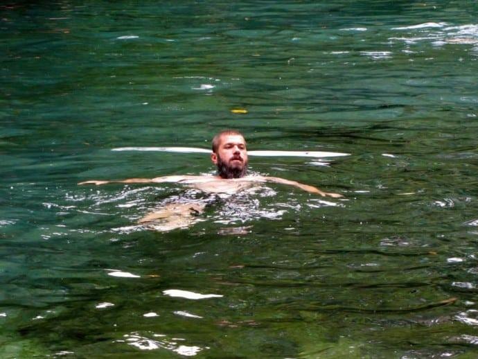 El Ojo de Agua on Isla de Ometepe Nicaragua