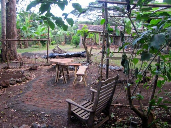 Garden Project on Isla de Ometepe Nicaragua