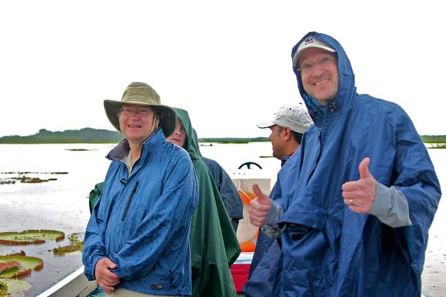 Getting Wet in the Amazon Rainforest