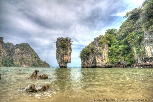 James Bond Ko Tapu islet Phang Nga T