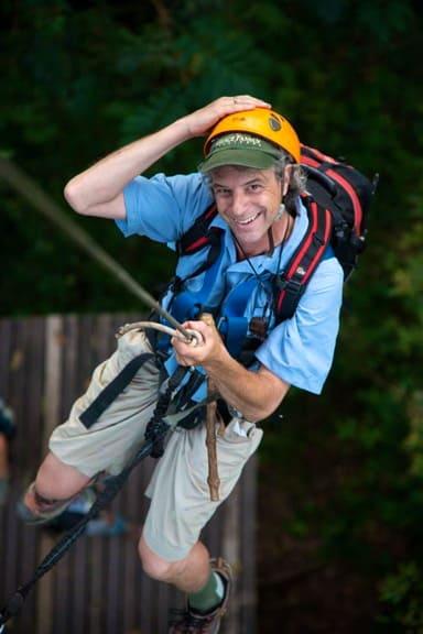 Travel Writer Jeff Greenwald in Laos