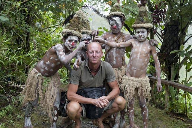 Photographer Jimmy Nelson in Papua New Guinea, Before They Pass Away