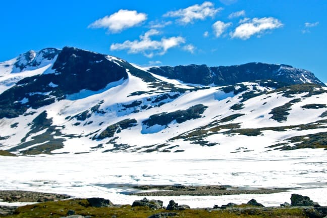 Amazing Scenery in the Jotunheimen Mountains of Norway