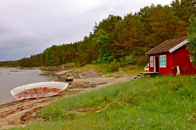 Kilesand Beach on South Koster Island, Sweden