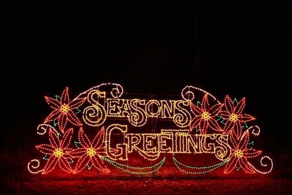 Christmas Lights Atlanta -Lake Lanier Islands Magical Nights of Lights