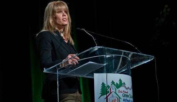 Laura Seydel Turner at Green Schools Conference