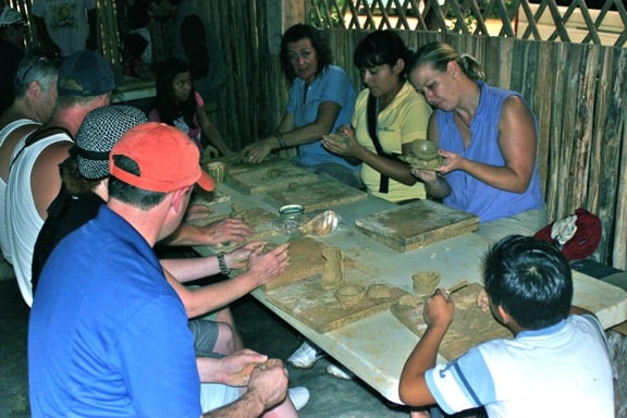 Examples of Ecotourism -Learning Mayan Pottery In Coba