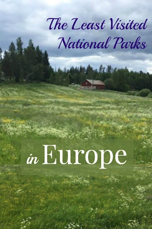 Least Visited National Parks in Europe