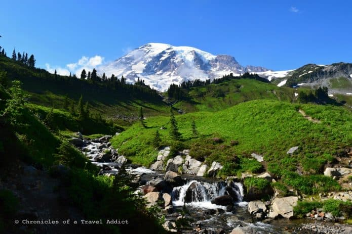 Washington National Parks -Mount Rainier National Park