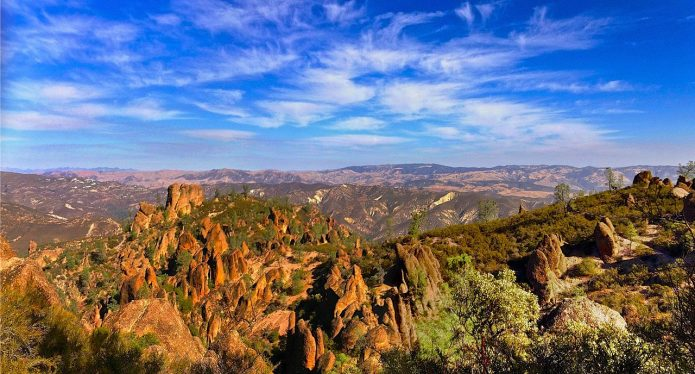 List of National Parks, A Complete Guide -Pinnacles National Park