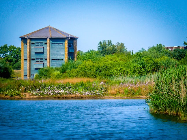 London_Wetlands_Centre_Wildlife_Viewing_Tower