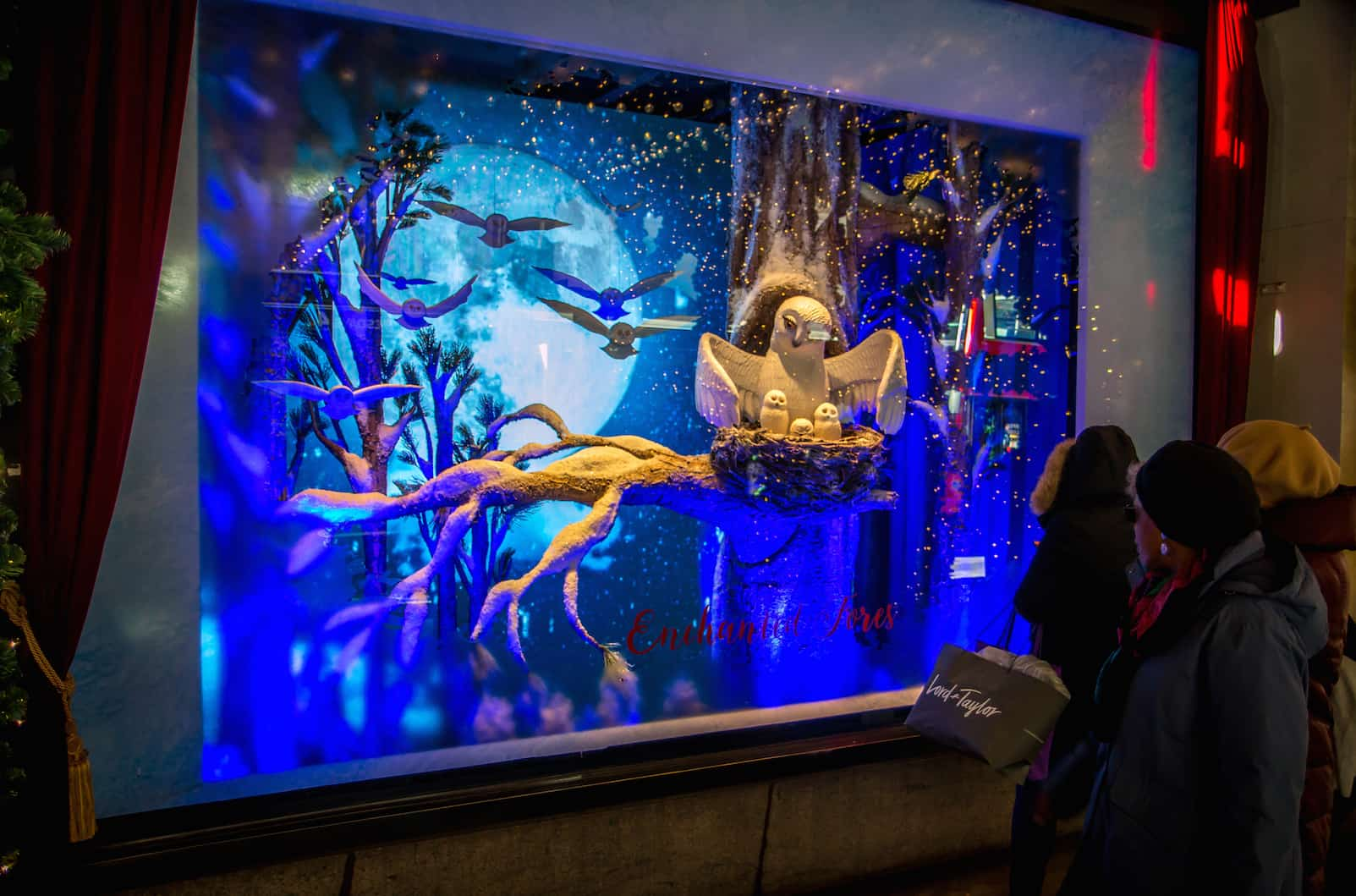 New York City Christmas Windows: Free Walking Tour (Lord & Taylor)