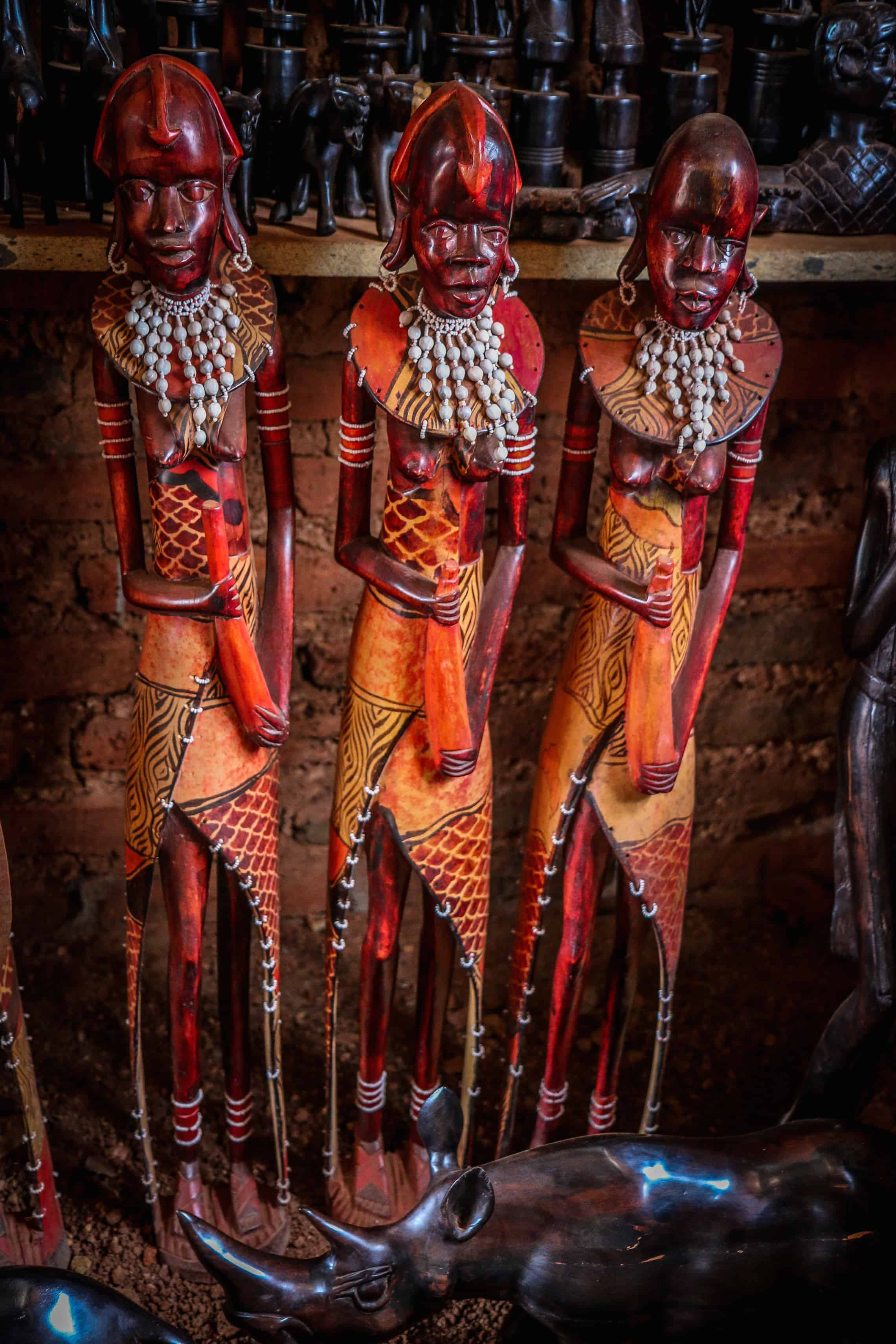 The Art of Maasai Culture: Hand Carved Wooden Statues