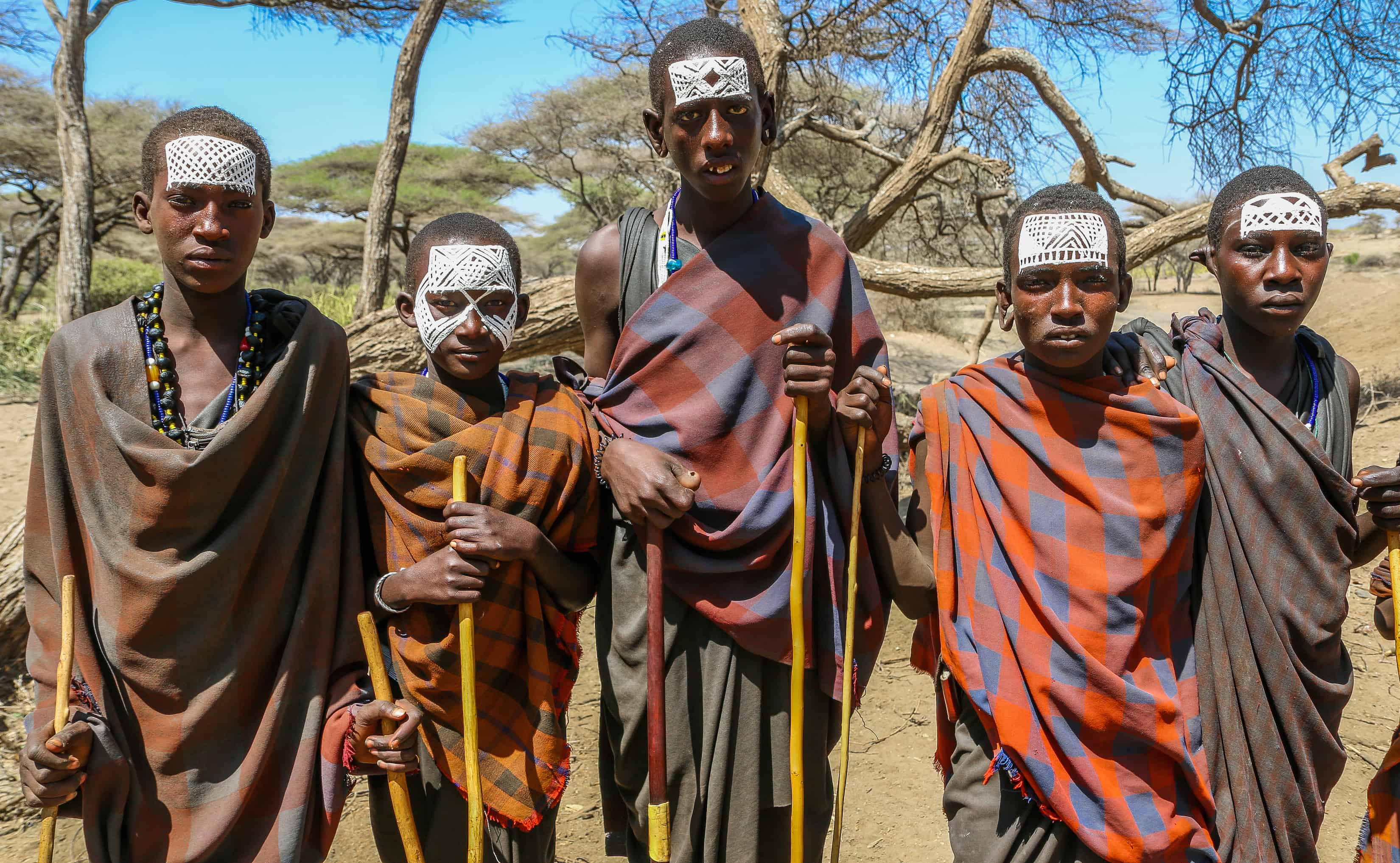 Maasai Boys, a.k.a. Moran