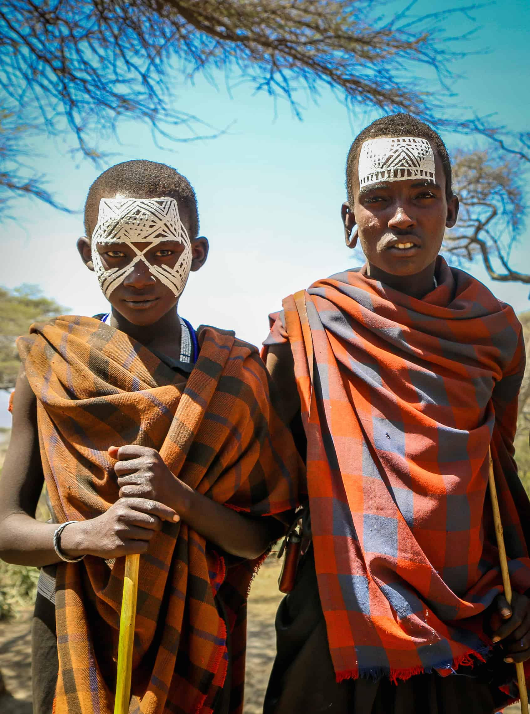 Adolescent Maasai Boys, known as Moran