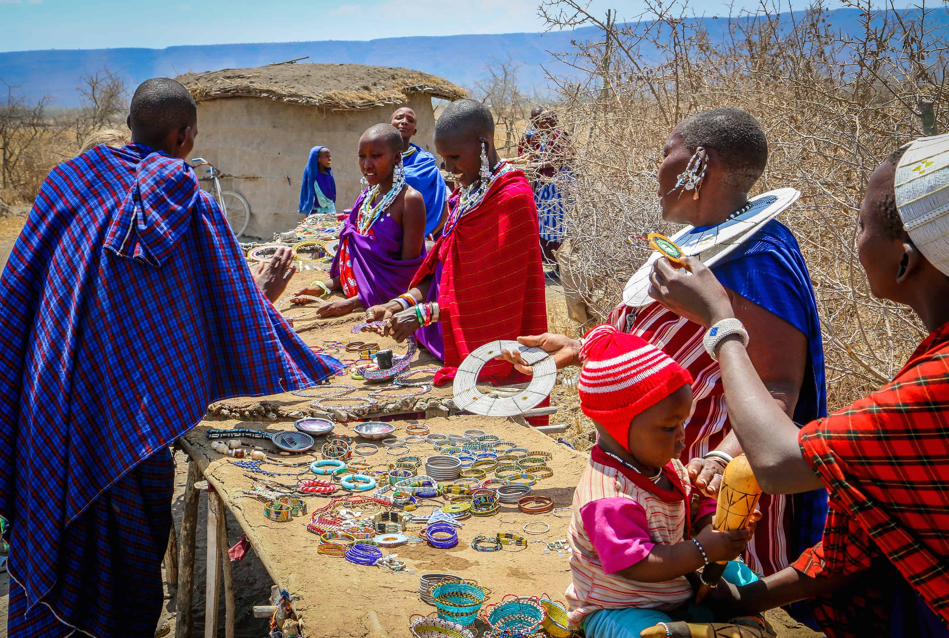Maasai Culture: Selling Arts & Crafts