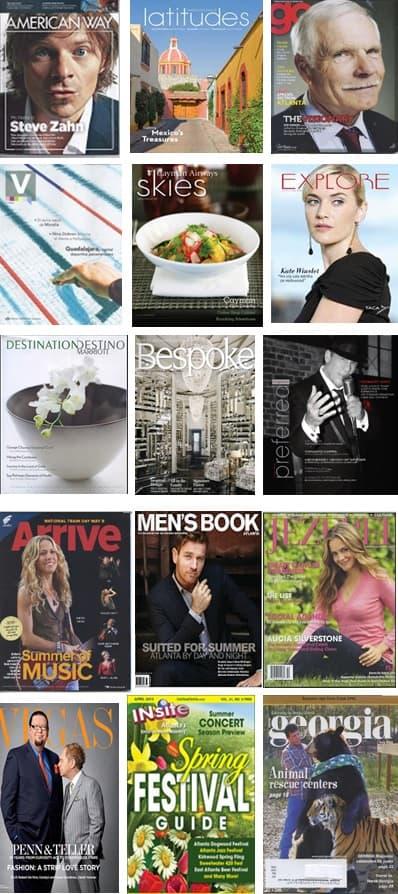 Freelance Magazine Covers