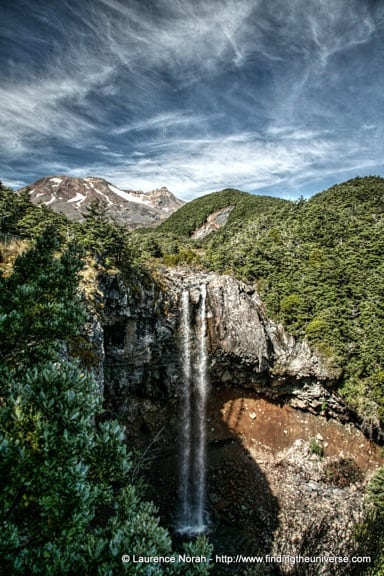 Mangawhero Falls, Tongariro, New Zealand