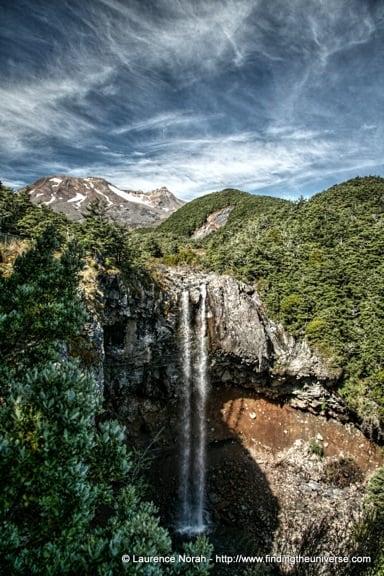 Mangawhero Falls, Tongariro, New Zealand