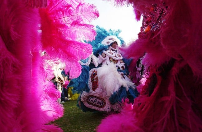 Margi Gras Indians of New Orleans