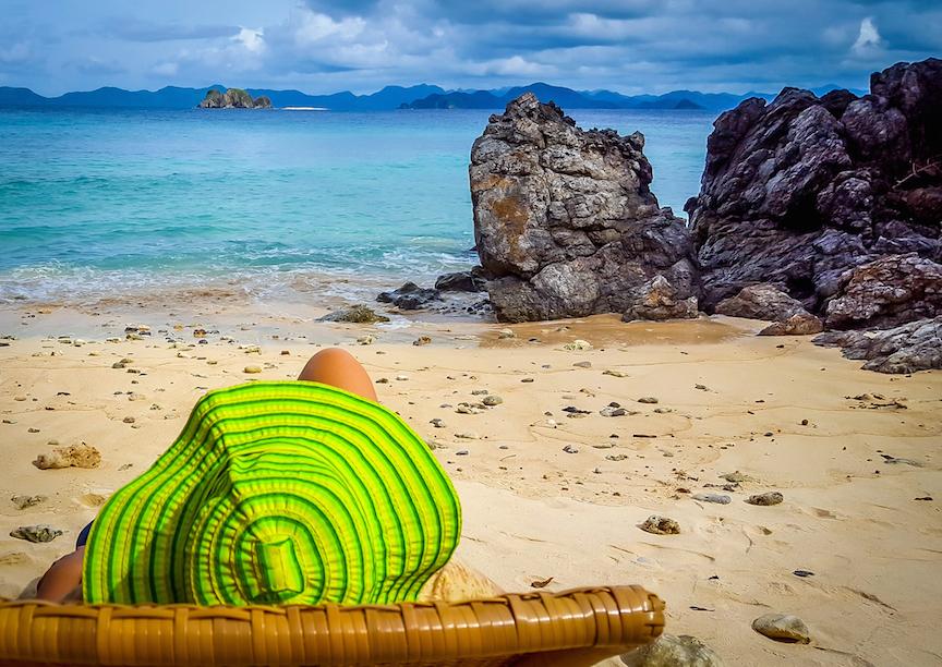 Things to Do in Coron, Palawan: Hidden Beach at Club Paradise