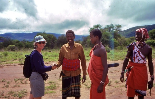 Megan Epler Wood Meets the Maasai in Kenya