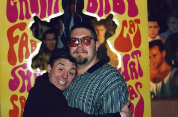 Me With Mike Myers in 1997