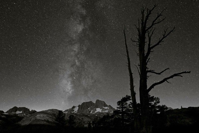 Ansel Adams Wilderness, Milky Way from Summit Lake
